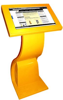 Информационный киоск для главного бюро медико-социальной экспертизы по Республике Хакасия