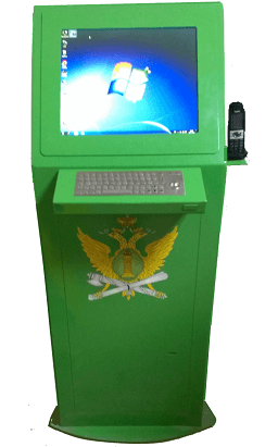 Информационный киоск для Федеральной службы судебных приставов г. Москва
