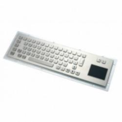 Антивандальная металлическая клавиатура SZZT ZT599B с тачпадом